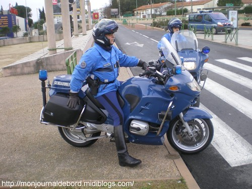 Motard gendarmerie 34