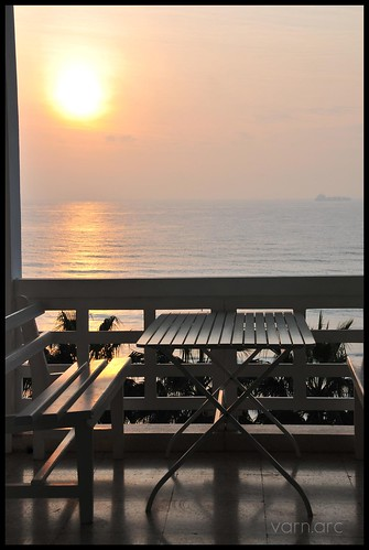 fog sunrise balcony larnaka nikond300 cyprusseascape varnavasthearchitect