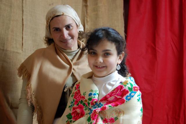 Pasturatu Mother and Daughter