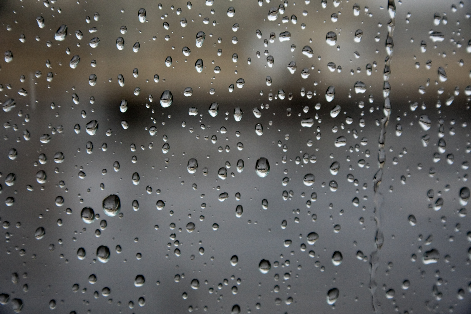 Clear Glass Raindrops