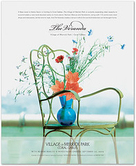 The Village of Merrick Park Veranda Ad (Advertisement)