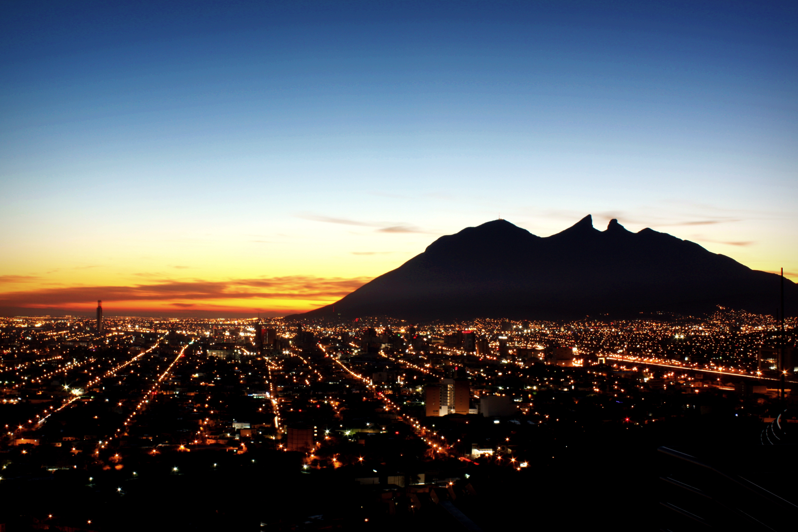 Atardecer en Monterrey