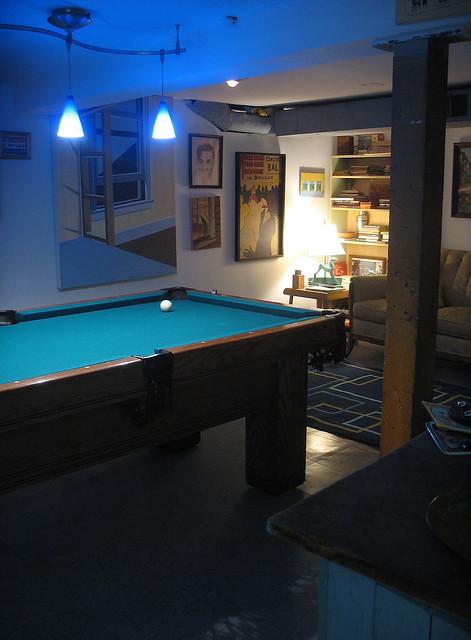basement pool room flickr photo sharing