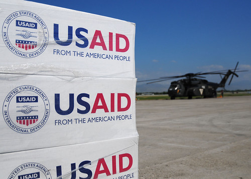 USAID is one of five agencies that use WBSCM to order and deliver food for federal food assistance programs and victims of disasters. The tool tracks data covering the entire process – from gathering orders and soliciting bids to making sure that vendors are paid. Photo courtesy of USAID.