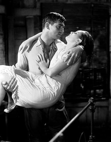 Clark Gable and Mary Astor
