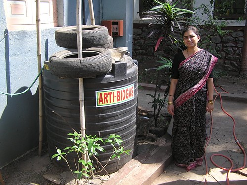 Biogas In A Bottle Biogas Plant India