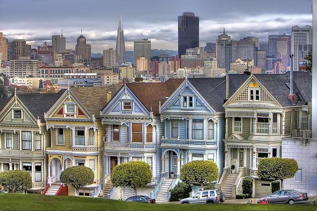 Painted Ladies San Francisco Flickr Photo Sharing