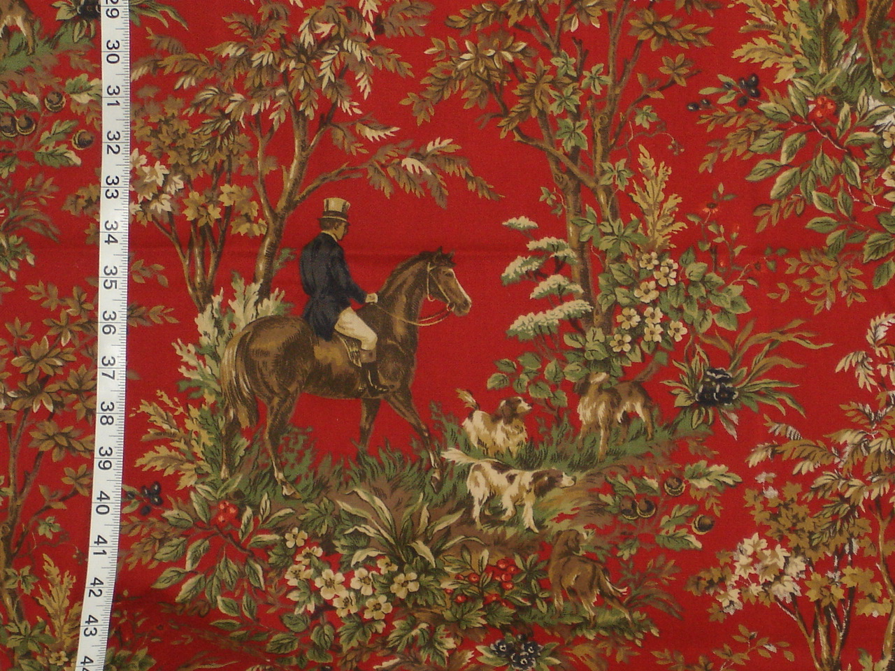 Ralph Lauren horse toile fabric home decorating a photo