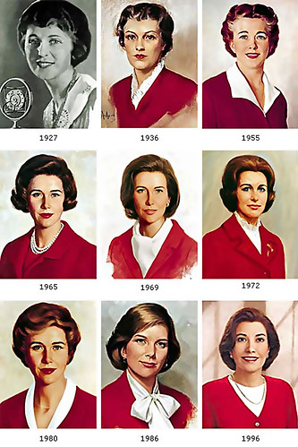 ... Betty Crocker thru the ages