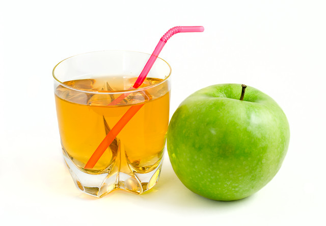 green apple and a glass of apple juice   Flickr - Photo ...