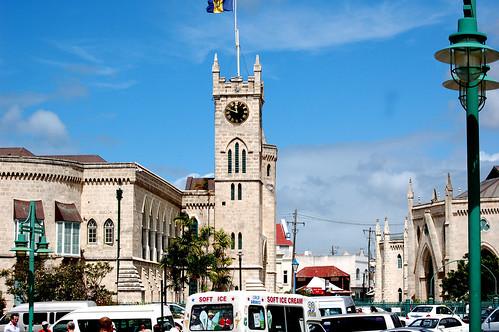 Barbados clocktower