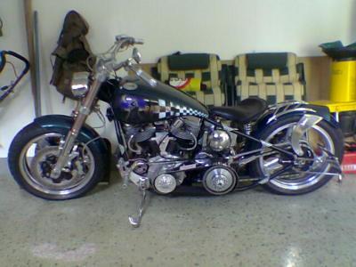 Harley Davidson Panhead  1952