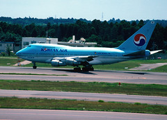 KOREAN AIR Boeing 747SP-B5 (HL7456/22483/501)