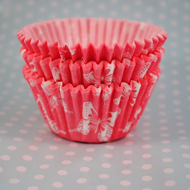 Butterfly cupcake cases