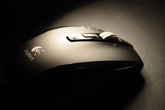 computer component, electronic device, white, close-up, mouse, monochrome, black,