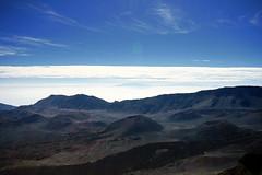 Haleakala crater rim