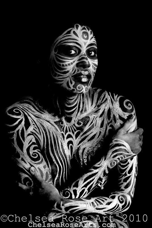 Apparition of Truth-body art photography