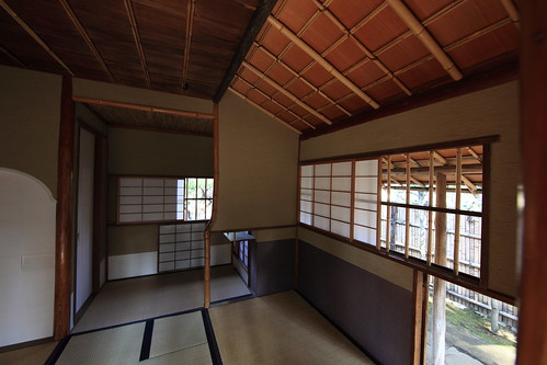 Japanese traditional style tea house / CHASHITSU  / 茶室(ちゃしつ)