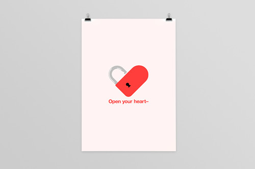 Open your heart-