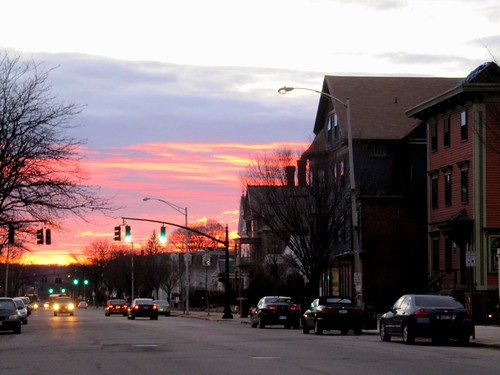 Beautiful Broadway Sunset by sobodda