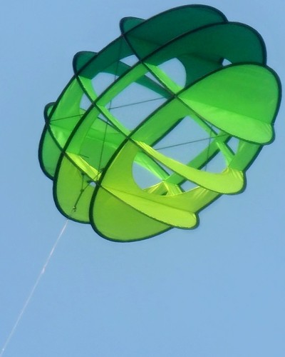 Green novelty kite
