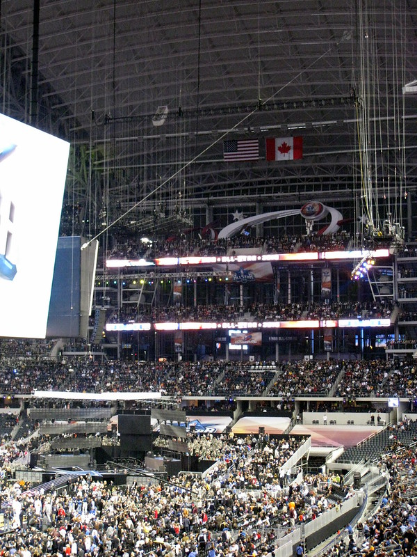 NBA All-Stars 2010 at the Dallas Cowboys Stadium