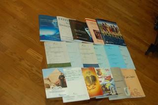 Finished Books printed on site, Bibliotheca Alexandrina, Egypt