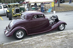 automobile, wheel, vehicle, automotive design, hot rod, antique car, sedan, ford model b, model 18, & model 40, vintage car, land vehicle, luxury vehicle, motor vehicle,