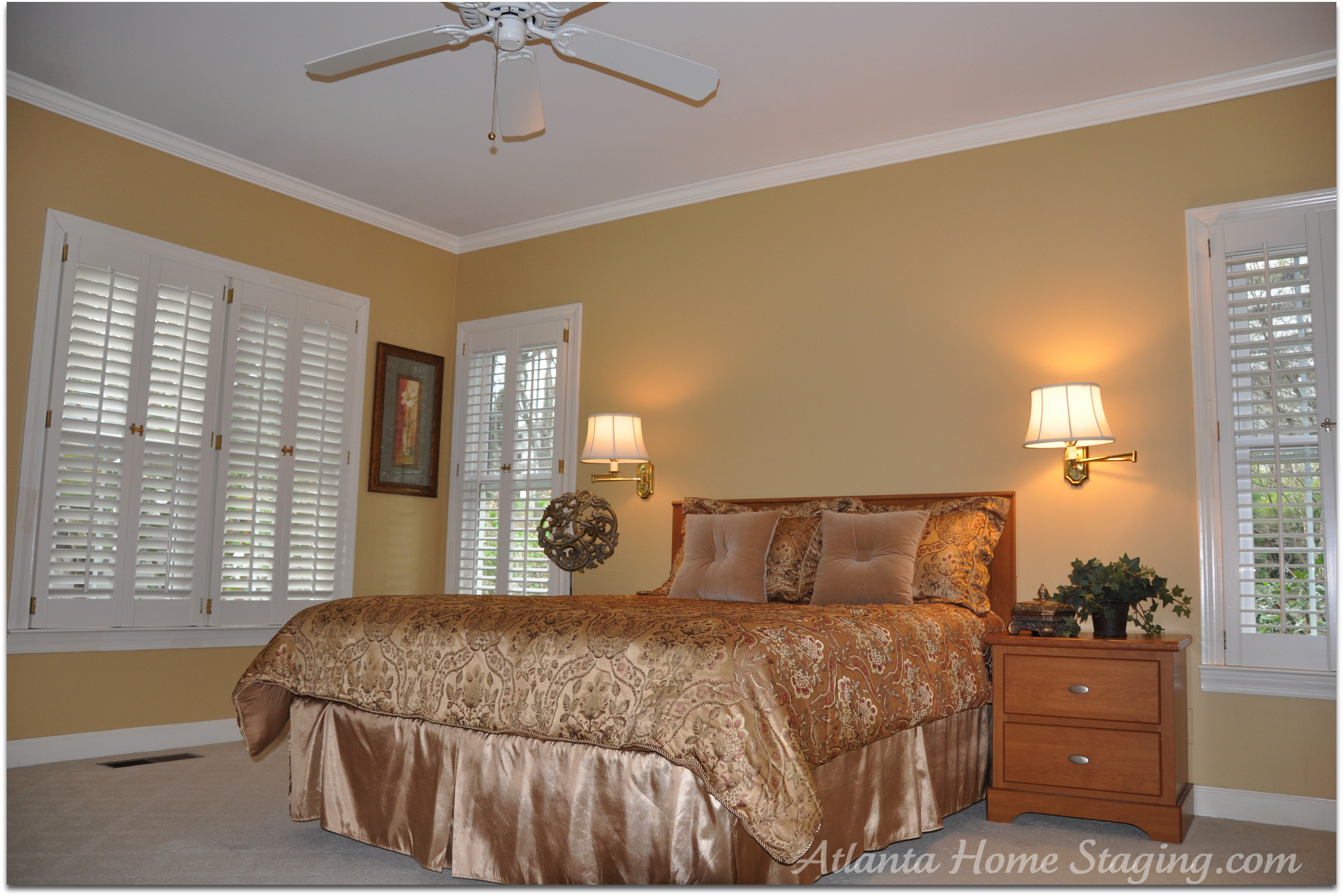 Atlanta home staging master bedroom flickr photo sharing Master bedroom home staging
