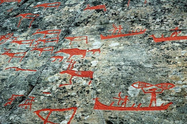 Rock carvings in alta norway flickr photo sharing