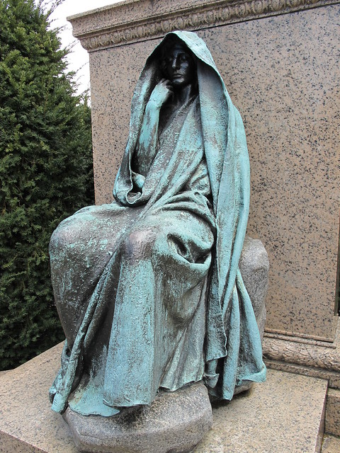 GRIEF MONUMENT, Rock Creek Cemetery, Washington DC ...