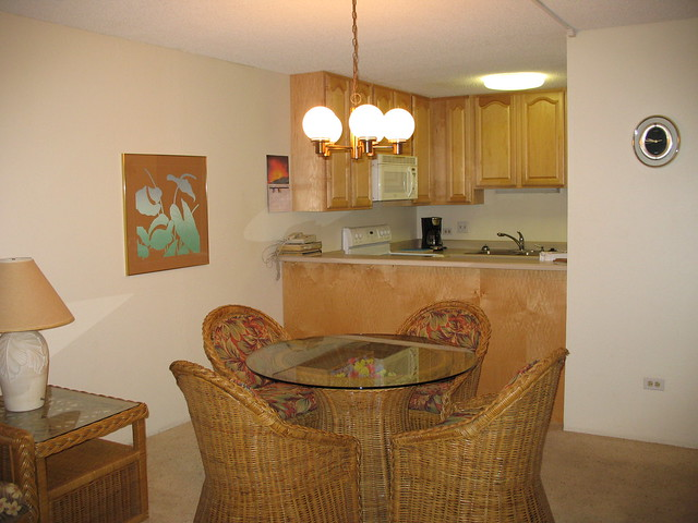 Kamaole Sands 4-111 Living Area