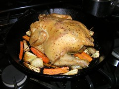 Tuesday Night Roast Chicken