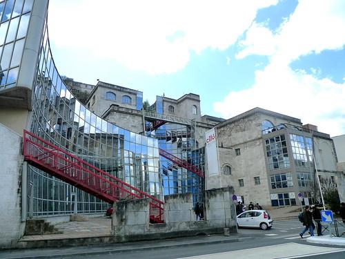 bâtiment Castro, cité de la BD (Angoulême,FR16)