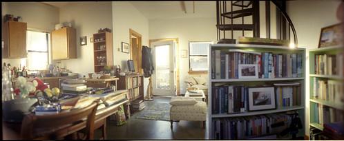 panorama film home 35mm desk horizon bookshelf 202 furlong