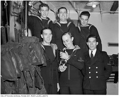 "H.M.C.S. ""Forest Hill"" crew, Torontonians aboard ship"