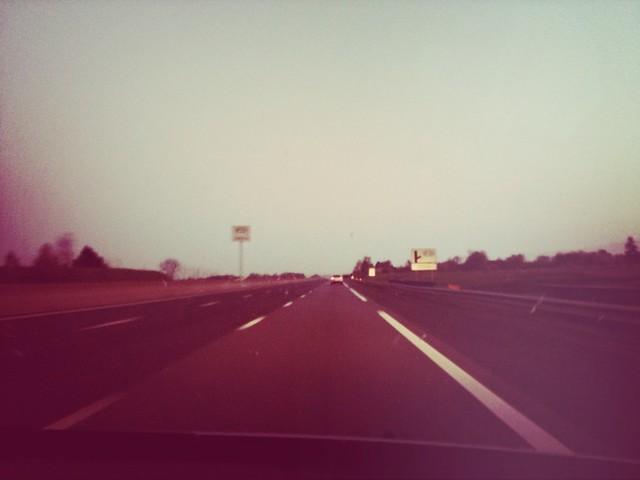 Sur l'autoroute...