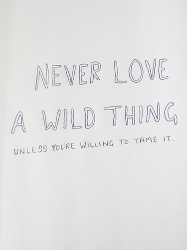 wild thing, i'll still love you