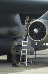 C-141 Engine Work