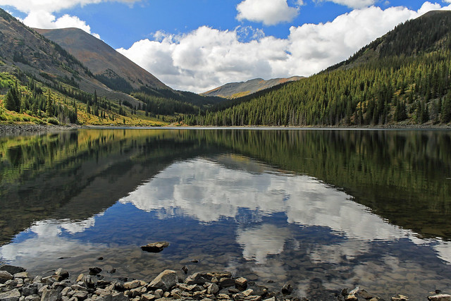 Mirror lake near tincup colorado flickr photo sharing for Taylor fish farm