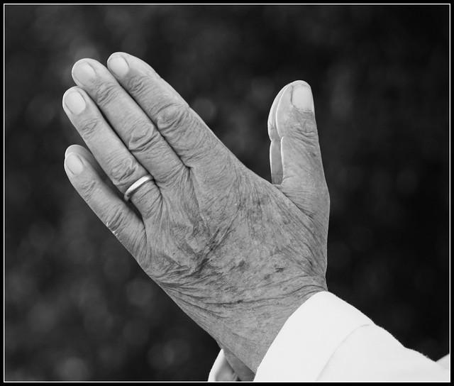 Praying hands from Flickr via Wylio