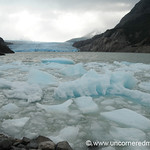 Ice Floes and Gray Glacier - Torres del Paine National Park, Chile