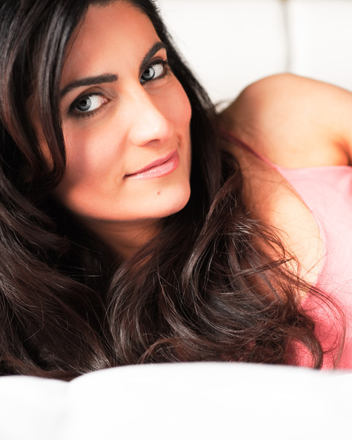 Model / Actress Headshot: Michele Montclair. Model Michele Montclair Website