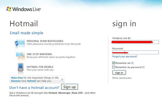 Photos With Hotmail Sign In | Short News Poster