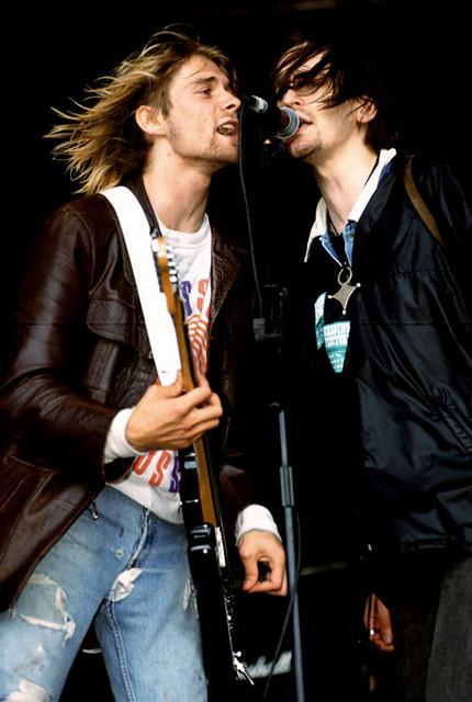Kurt Cobain And Eugene Kelly Reading Festival 91