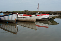 Boats near Sheringham
