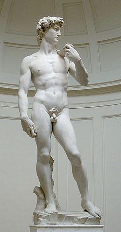 ミケランジェロ作『ダビデ像』David_von_Michelangelo