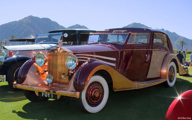 1937 Rolls-Royce Phantom III Sedanca de Ville - 103CP38 - fvl