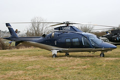 G-IOOZ - 2008 build Agusta A109S, visiting the 2010 Cheltenham Festival