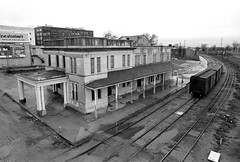 Frisco Depot, Ft. Smith, Arkansas, 1973